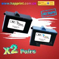 High Quality Ink Cartridge 18L0032 18L0042 for Lexmark 82 83 X5100 X5150 X5190 X5200 X6100 X6150 X6190 X65 Z55 Z65... (2Pairs)