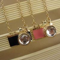 Fashion accessories mini camera necklace pendant necklaces pendants best friend