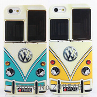 For Volkswagen Car Brand Name Print Hard Case for iPhone 5 5S 5G High Quality Mobile Phone Case Cover 1pcs Free Drop Shipping
