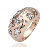CR21 mineral crystal fashion ring factory price jewelry wholesales  for women  B5