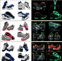 22 Colours Free Shipping New Air Foamposite One Pro Shooting Stars Elephant Print Men's Basketball Sport Footwear Sneakers Shoes
