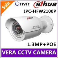 720P HD 1.3MP Dahua IP Camera Outdoor IPC-HFW2100P Support POE CMOS Sony Sensor Waterproof IR Mini Security Camera IP Cam