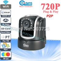 Neo Coolcam onvif  Plug and Play Wireless Wifi IP Camera H.264 IR Cut and 720P HD Network Camera