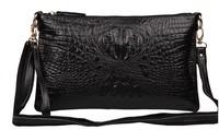 Genuine Leather Handbag Messenger Envelope Clutch Candy Color Women Bag Free Shipping FFB007