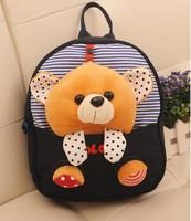 Hot selling kids backpack love cartoon bear bage kintergarden children bag