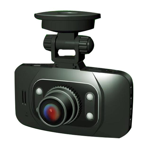 Free shipping Russian 2.7inch screen Novatek cycle recording night vision camera recorder car dvrs(China (Mainland))