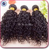 Kiss Queen hair products brazilian virgin hair water wave human hair 3 pcs lot free shipping brazilian curly virgin hair