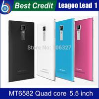 "Case+Films)Gift!Original Leagoo Lead 1 MTk6582 Quad core Smartphone 5.5"" HD IPS OGS Screen 1GB RAM 8GB ROM 6.9mm 13MP/kate"