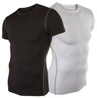 Mens Quick Drying 2014 New Sports Brand  Exercise Casual Short sleeve T-Shirts Tops & Tees Slim Fit Tops New MTS002