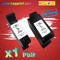 Inkjet Printer Ink Cartridge for hp 45 hp 78 51645A C6578DN 930c 948c 950c 960c 970cxi 990cxi 1180c P1000 P1100 P1215.(1BK+1C)