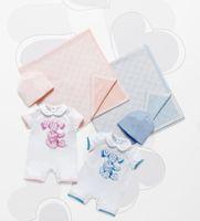 0-3 months 2014 new Newborn baby boy&girl romper (bodysuits) set high quality Brand costume overall (hat+jumpsuits+bib) clothing