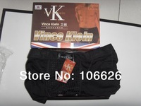 #026 Vince Klein health care function men's cotton fabric magnetic therapy boxer shorts trunks
