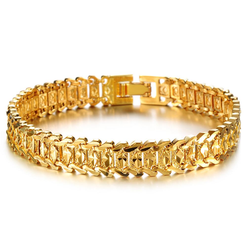 aliexpress buy classic 18k gold plated bracelets
