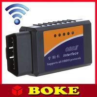 Quality A++ WiFi ELM327 ELM327 OBD 2 II Car Diagnostic Interface Scanner TOOL Dropshipping Wholesale elm327 wifi 1Pcs/lot
