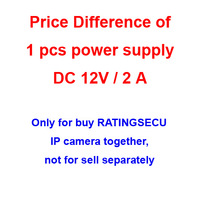 power, for RATINGSECU IP camera to pay cost difference, not for sell separately