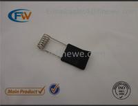 Manufacture supply downlight flat metal clip, LED light hardware, torsion flat spring