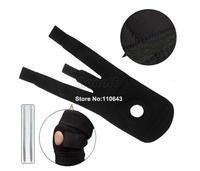 New 1 Pair Adjustable Knee Guard Wrap Support Tendon Elastic Brace Patella Sport Stabilizer Pad 10701