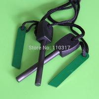 SALE! 12pcs/Lot, Big Outdoor Survival Magnesium Flint Stone Fire Starter Lighter Kit