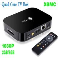 Android XBMC Smart TV Box Quad Core Media Player 1080P WIFI HDMI  YOUTUBE EU Plug
