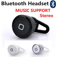Universal Super Mini Bluetooth Headset  Stereophone YE-106S MUSIC SUPPORT For Cellphones Wireless Headphones Free Shipping