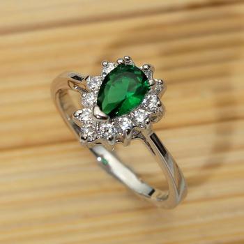 Engagement Ring On Finger