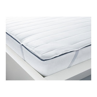1 piece 90x200cm  white color cotton and polyester bed protection pad bed mat cover mattress protector