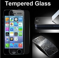 New Toughed Tempered Glass Protection Screen For Iphone 5 5G/5S With Scratch Card/Cleaning Wipes/Microfiber Free Dropshipping