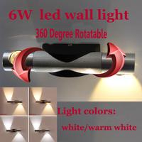 Modern 6W led wall light home decor restroom bathroom bedroom reading wall lamp hotel lamp lights GZMDS16
