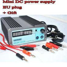 Free shipping EU plug precision Compact Digital Adjustable DC Power Supply OVP/OCP/OTP low power 32V5A 110V-230V 0.01V/0.01A(China (Mainland))
