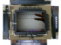 great price 15 inch touch screen monitor for machine,15 inch open frame  touch screen monitor.USB touch screen monitor.
