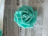 7cm artificial floral eva foam roses heads,diy craft bride hand bouquet,kissing ball,decoration for wedding car,arch,led flower