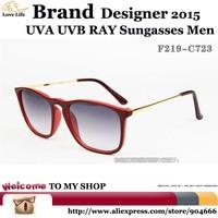 US F.D.A Standard Standard Lens UV400CE Glasses men Brand Designer 2015,Simple elegant Wayfarer Fashion Sunglasses Women Vintage