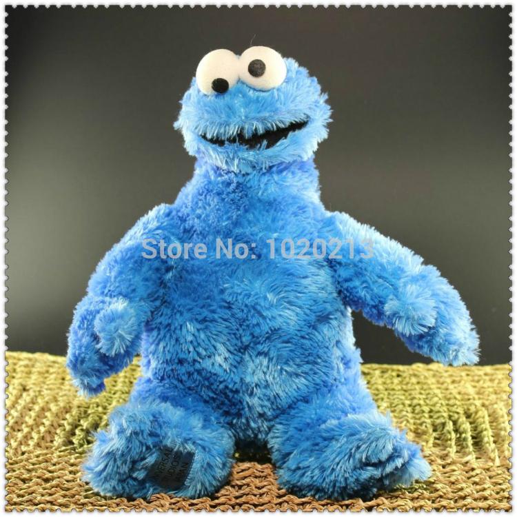 Sesame Street Playskool Let's Cuddle Cookie Monster Plush Toys 33cm(China (Mainland))
