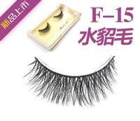 F-15 soft handmade false eyelashes mink short in the eyes of the eye longer export exclusive cross