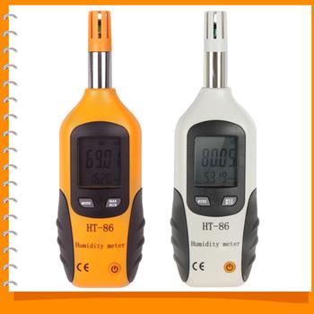 Цифровой жк двойной дисплей промышленного температура и влажность метр датчик термометр ...