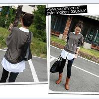 Hot! 2014 black color soft pu leather fashion women's bags knitting outside zipper handbags totes