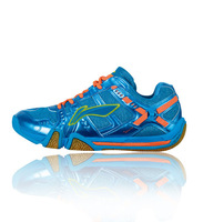 Li-ning Badminton Shoes 2014 Affixed To The Ground Women Tournament Shoes AYAJ008-1-2-5