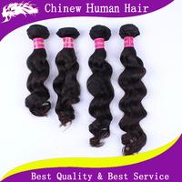 7A Loose Wave Raw Brazilian Hair Bundles 5pcs lot Natural Black Hair 100% Unprocessed Remy Brazilian Hair Extensions