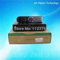 Original cloud ibox 3 twin tuner Combo DVB-S2+DVB-T2/T/C best linux hd Hybrid satellite receiver 2014