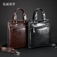 Fashion handbag business bag male shoulder bag briefcase male bags casual