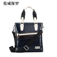 New arrival color block man shoulder bag men's casual handbag fashionable male messenger bag