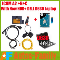 DHL Free!2014 New Version ICOM A2+B+C with 2014.02 ICOM HDD Software+Laptop DEL D630+USB Key with Expert Mode Multi-language