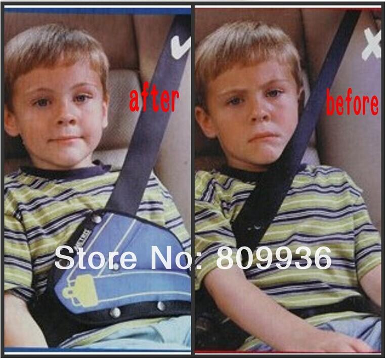 2014 child car safety belt adjuster, child resistant safety belt protector shave(China (Mainland))