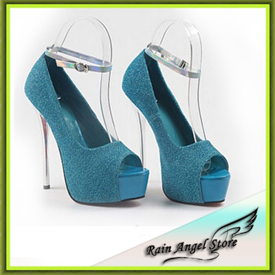 2014 New Fashion Sexy Platfroms High Heel Shoes Woman Nightclub Pumps Shoes Sandals 4color 35-40Size(China (Mainland))