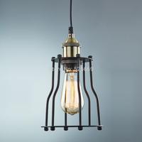 Traditional Art Deco Iron pendant light lamp fixture adjustable height  for home bar restaurant  TN-YJ-984