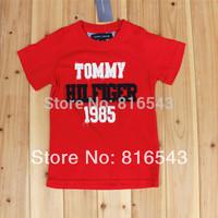 5 PCS/LOT 11 style Boys t shirt 2014 new Summer Kids clothes boys clothes Short Sleeve O-Neck Letters Boy's t shirt Cotton