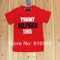 5 pcs/lot 14 Model children unisex Brand US Design children's t shirts 2014 new Boys clothes Short sleeve O-Neck Letter t shirts