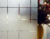Square design window film sticker  Wall  Decor & Windows Glass Stickers frosted vinyl 45/60cm*100cm  privacy self-adhesive
