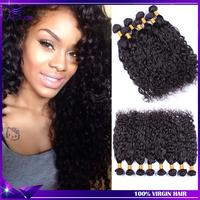 7A Brazilian virgin hair 3pcs Rosa hair products Wet and wavy virgin brazilian hair Brazillian hair water wave free shipping