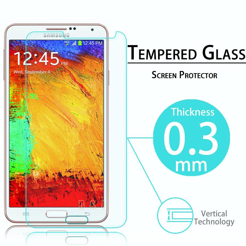 premio schermo in vetro temperato di protezione per samsung galaxy nota 3 vetro temperato pellicola protettiva per n9000 con il pacchetto retail